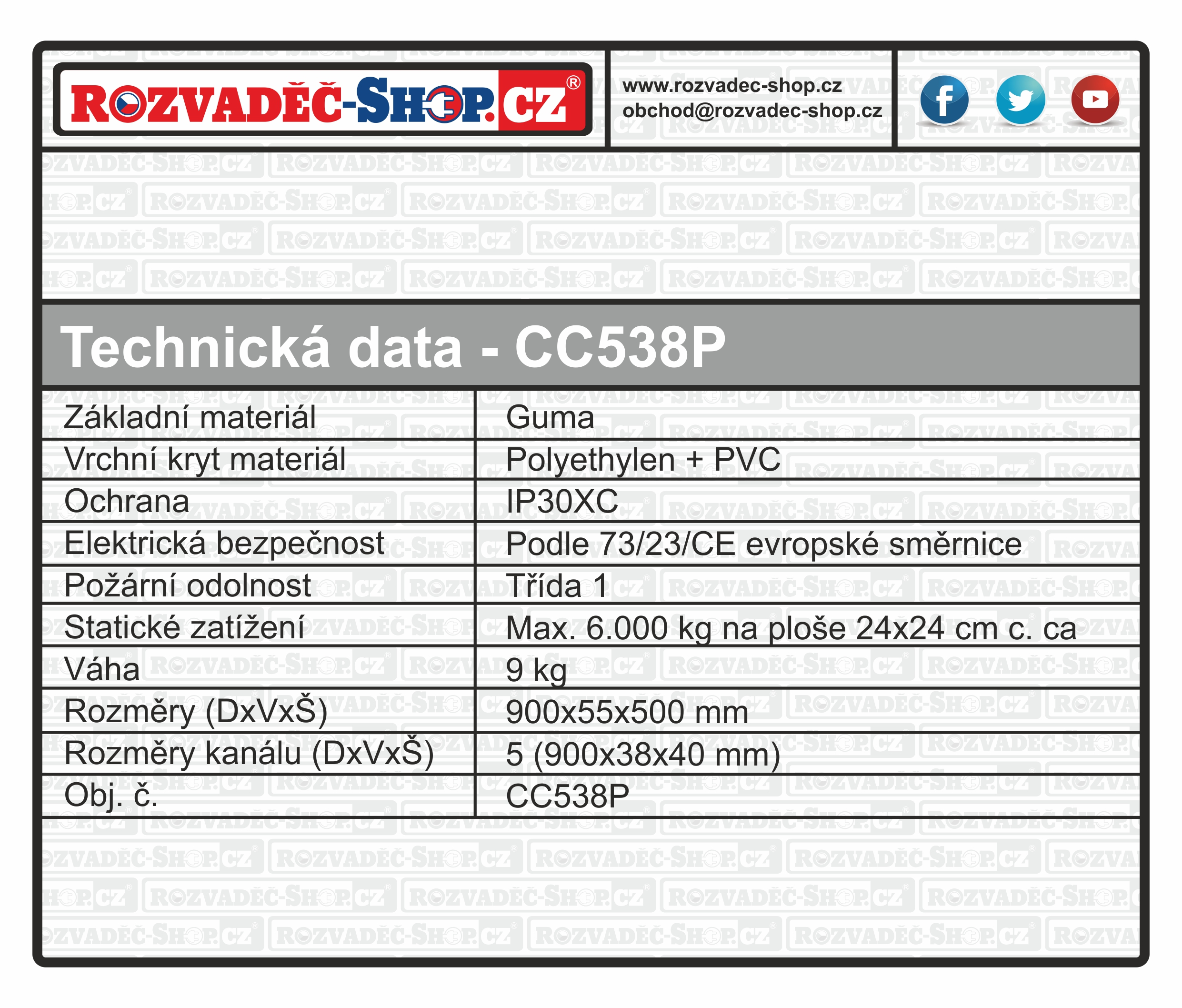 prejezd_CC538P_tabulka
